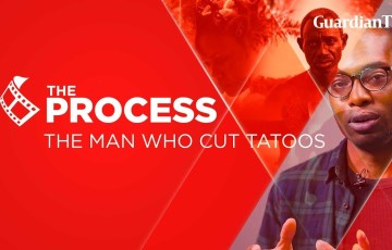 Micheal Omonua Discusses 'The Man Who Cuts Tattoo' on Guardian's 'The Process'