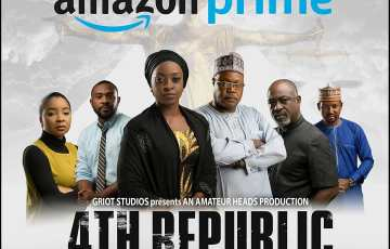 Ishaya Bako's '4th Republic' now streaming on Amazon Video Prime