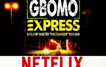 Walter Taylaur's 'Gbomo Gbomo Express' is returning to Netflix