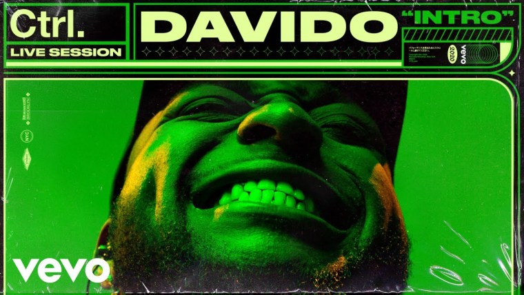 Watch Davido Perform 'Intro' and 'Greed Light Riddim' for Vevo CTRL