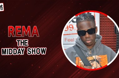 "Rema on Beat 99.9 FM Midday Show "" I have my goals, and I don't want to be like anybody."""