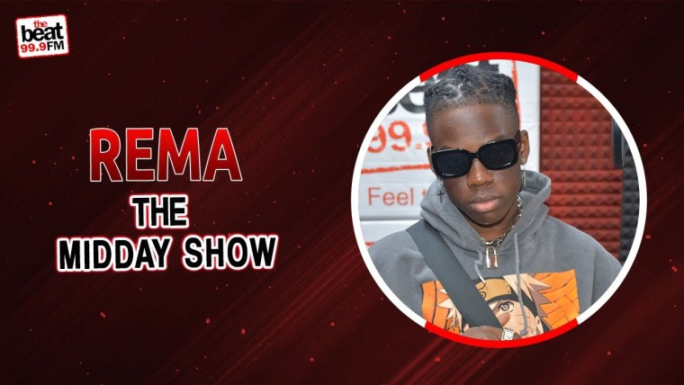 """Rema on Beat 99.9 FM Midday Show """" I have my goals, and I don't want to be like anybody."""""""