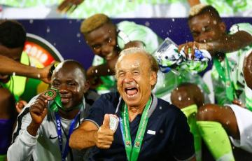 NFF Announces Extension of Gernot Rohr's Contract