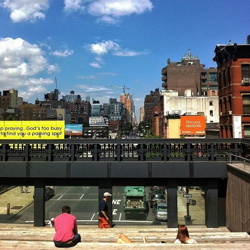 High Line Down Tenth Avenue