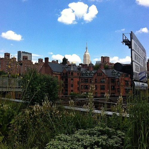 High Line at West 20th Street