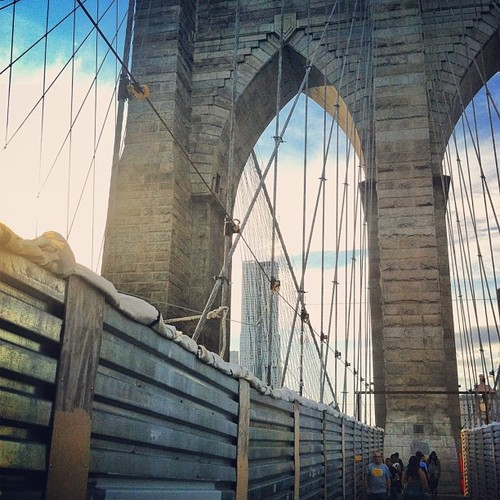 Brooklyn Bridge Rehabilitation Work