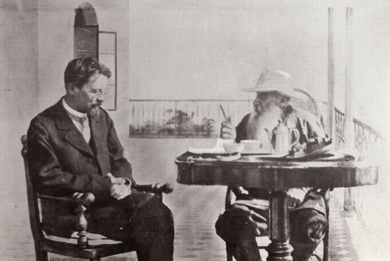 Chekhov Tolstoy