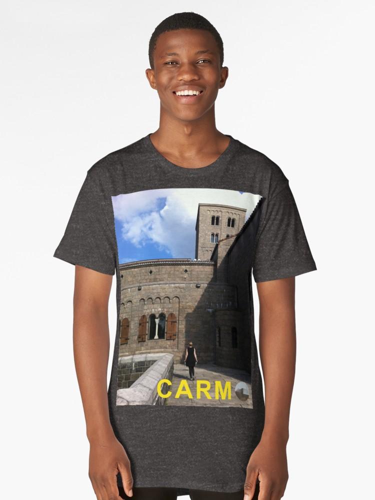 Culturedarm CARM Cloisters Charcoal Heather Long T-Shirt