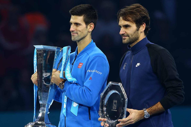 Djokovic Federer ATP Finals