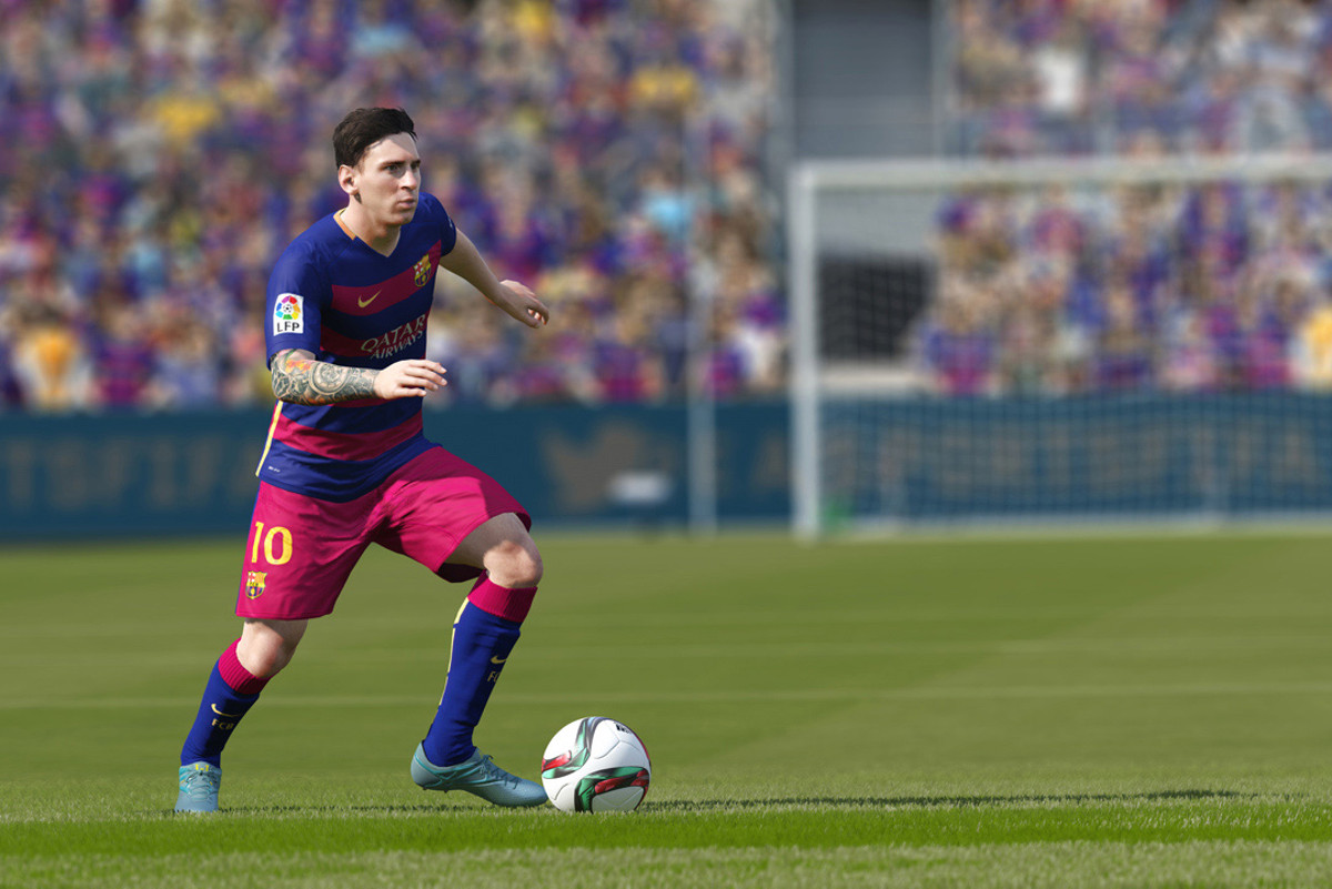 FIFA 16 Gameplay Customisation Sliders