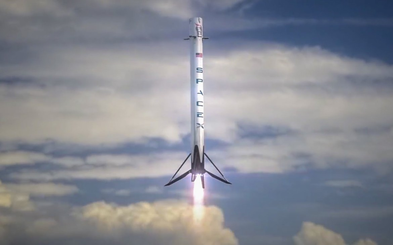 Falcon 9 Landing 2