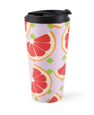 Culturedarm Grapefruits Travel Mug