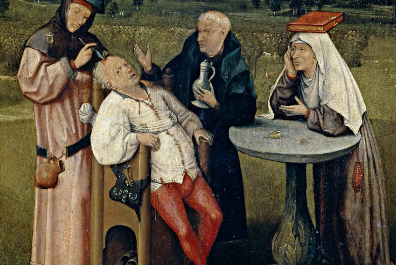 Hieronymus Bosch - The Cure of Folly 2