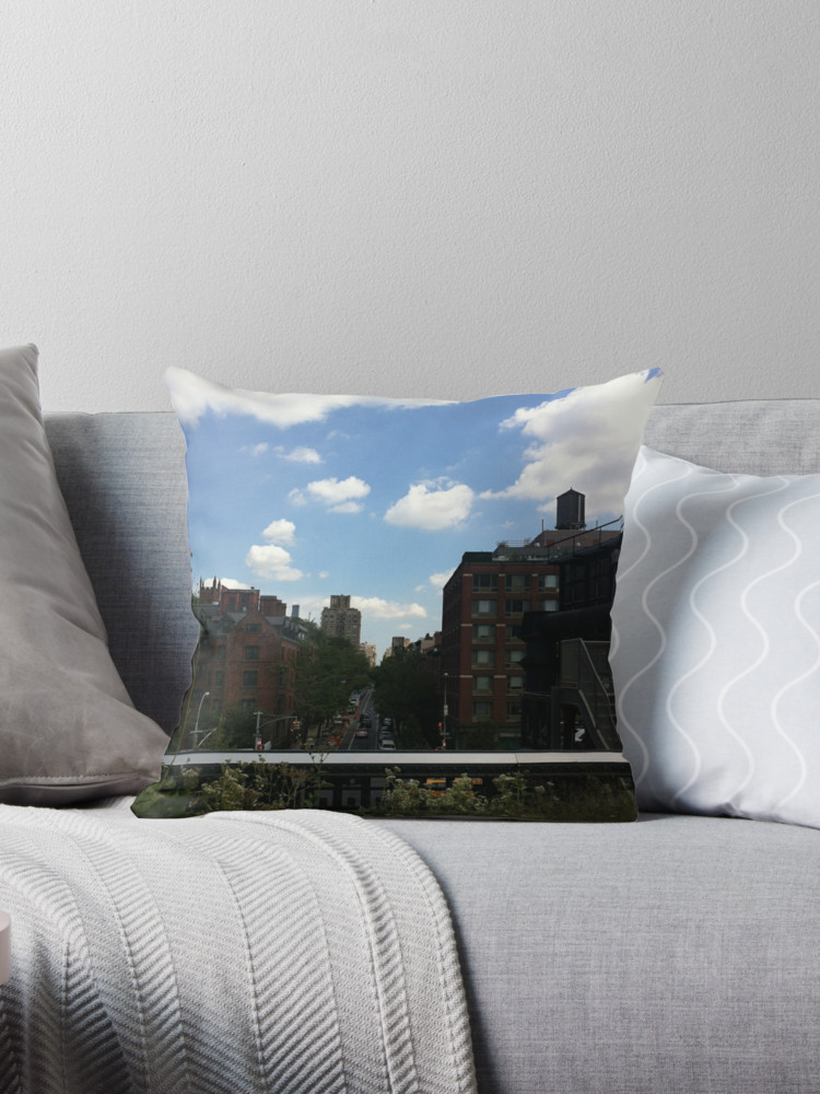 Culturedarm CARM High Line Throw Pillow