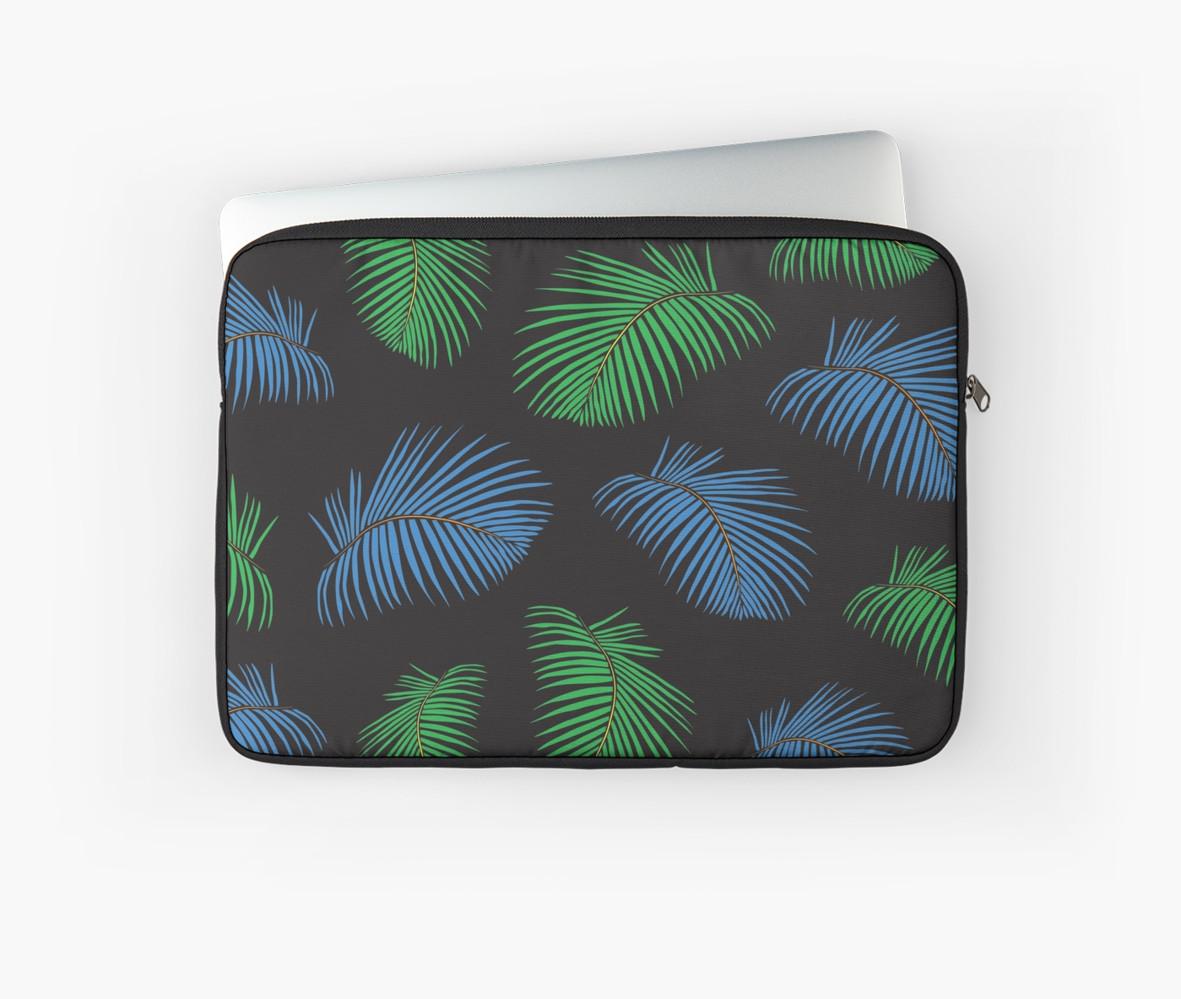 Culturedarm Palm Fronds Laptop Sleeve
