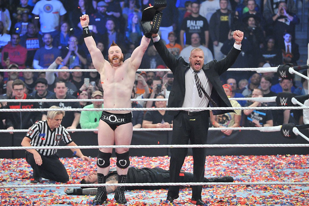 Survivor Series Sheamus Triple H