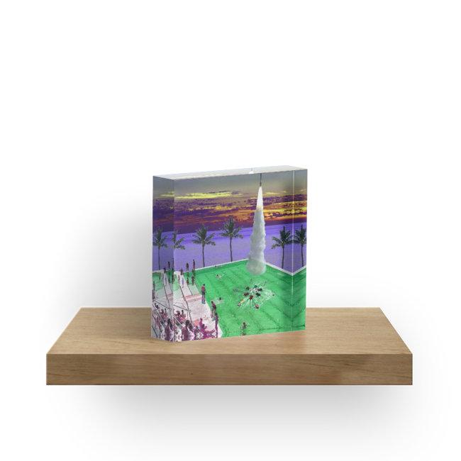 Culturedarm Synchronised Swimming Acrylic Block