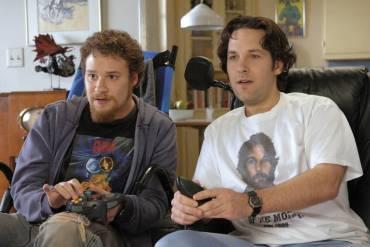 Seth Rogen and Paul Rudd