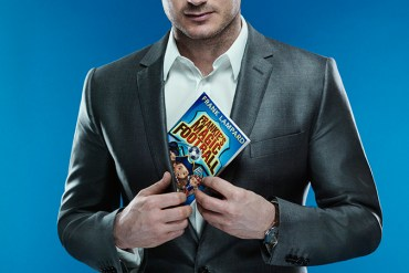 Frank Lampard holding a book