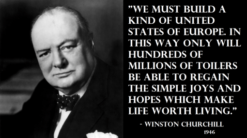 Churchill on the EU