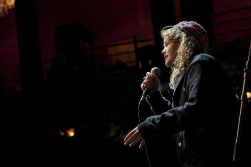 Kate Tempest in action