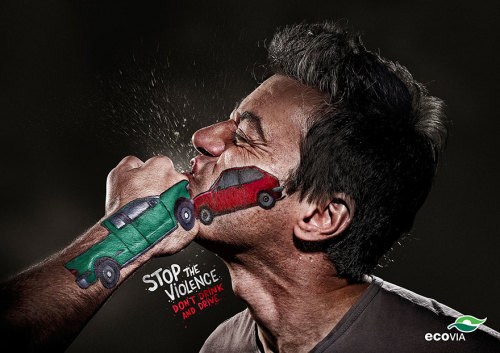 stop violence drink drive