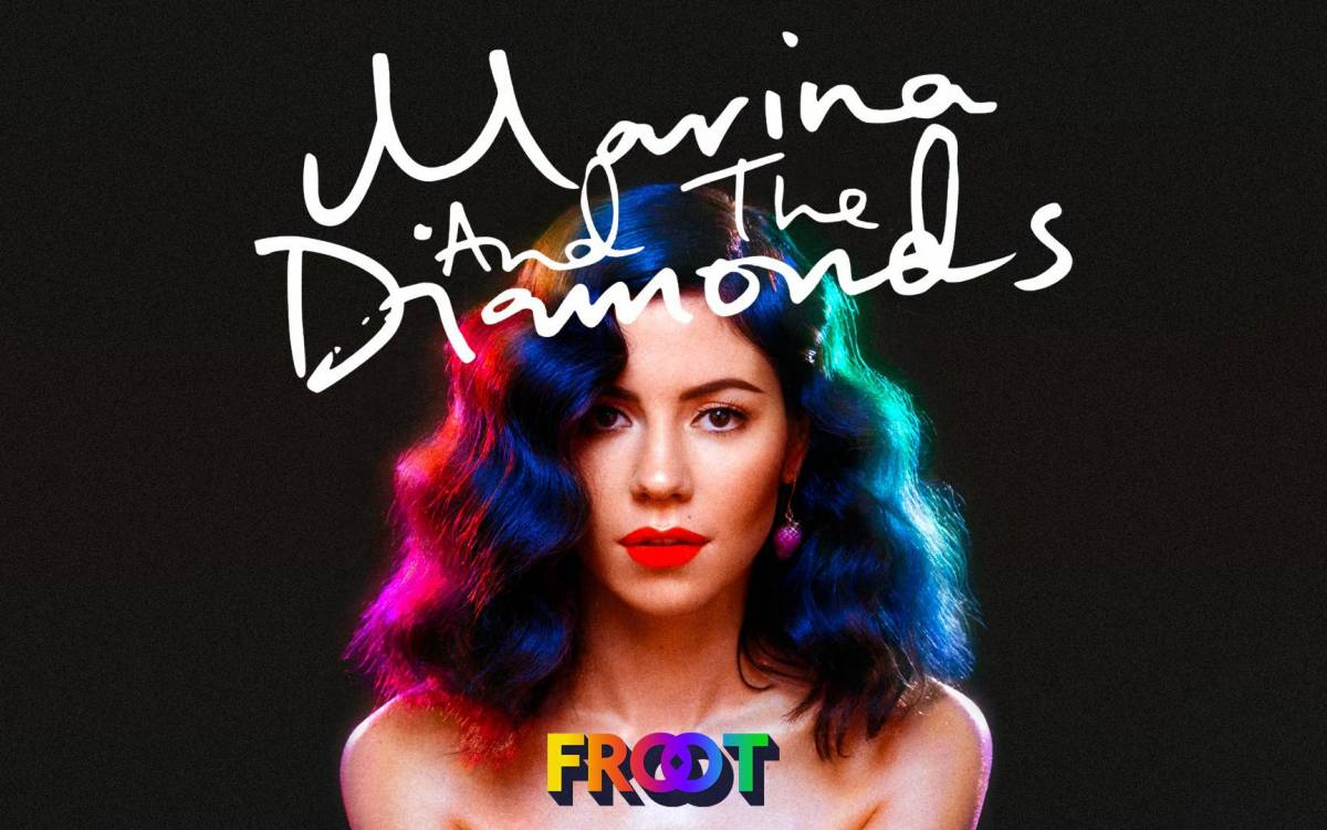 Just Cd Cover: Marina & The Diamonds: Are You Satisfied