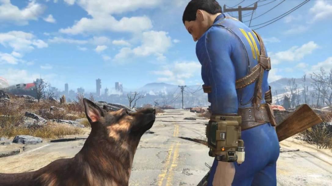 Fallout 4 Dog and Man