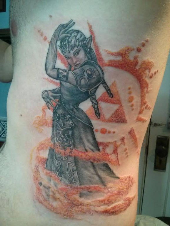 Zelda tattoos