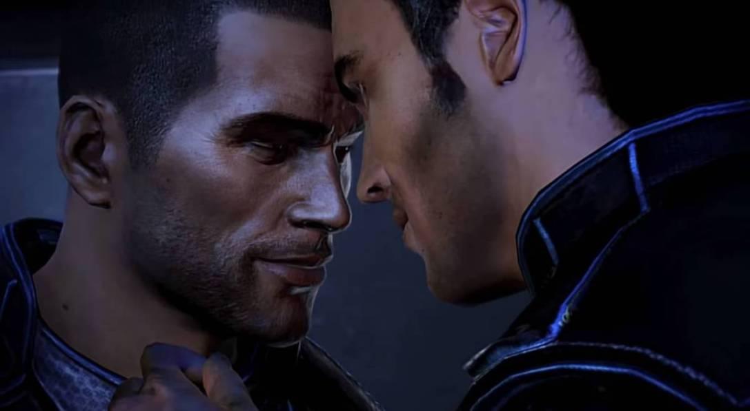 Mass Effect gay