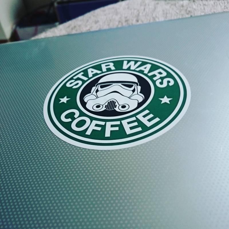 Star Wars Coffee Sticker