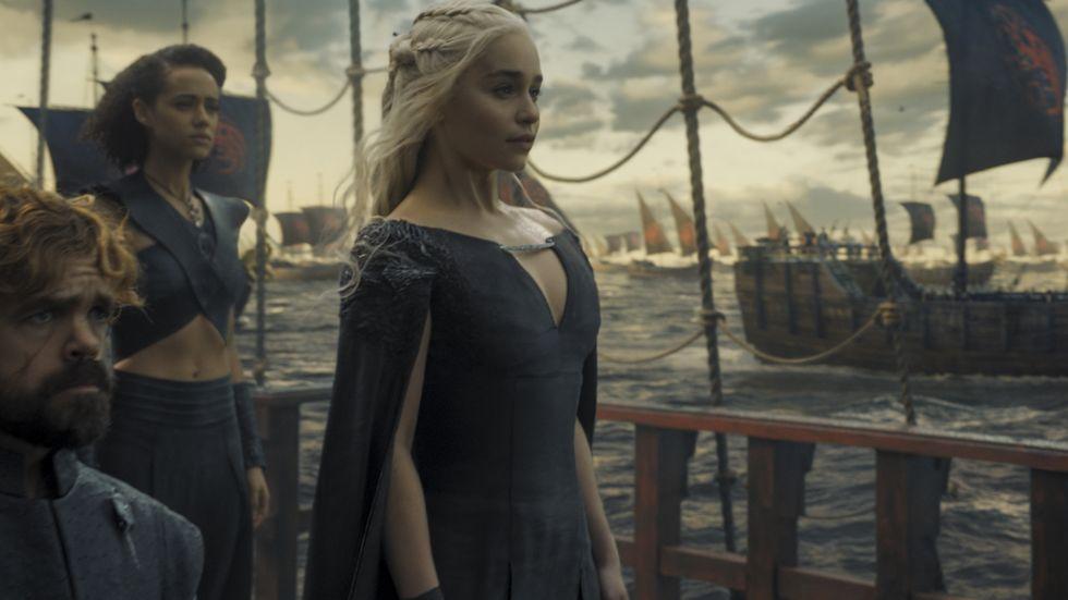 Daenerys sets sail