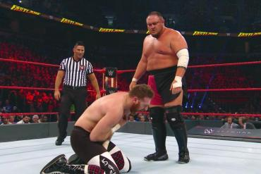 Samoa Joe and Sami Zayn