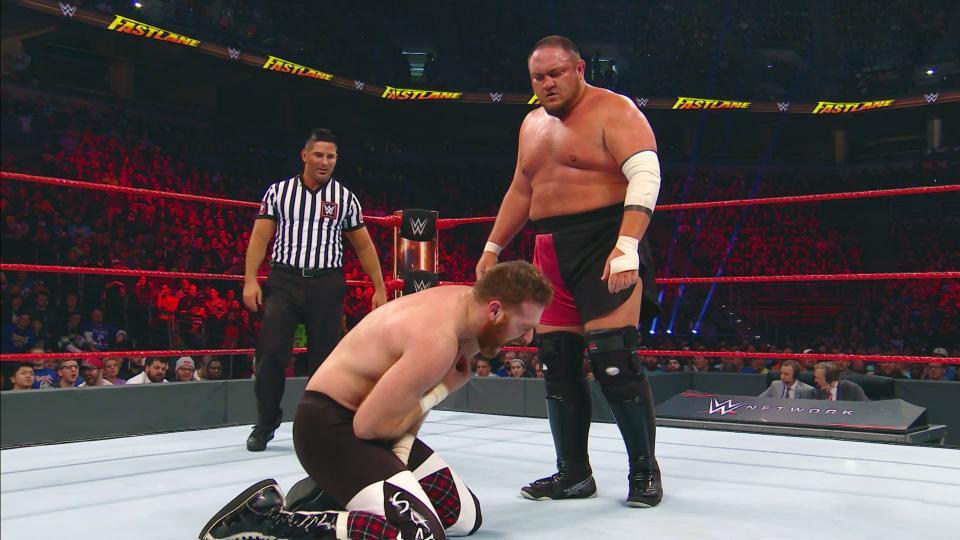 Samoa Joe and Sami Zayn