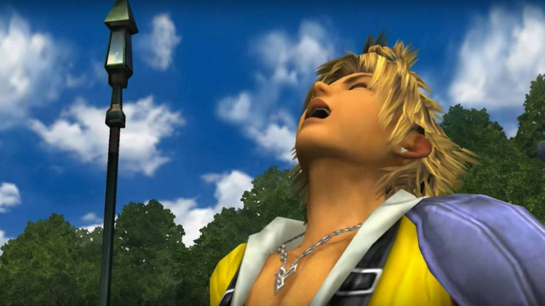Final Fantasy 10 Tidus Laugh