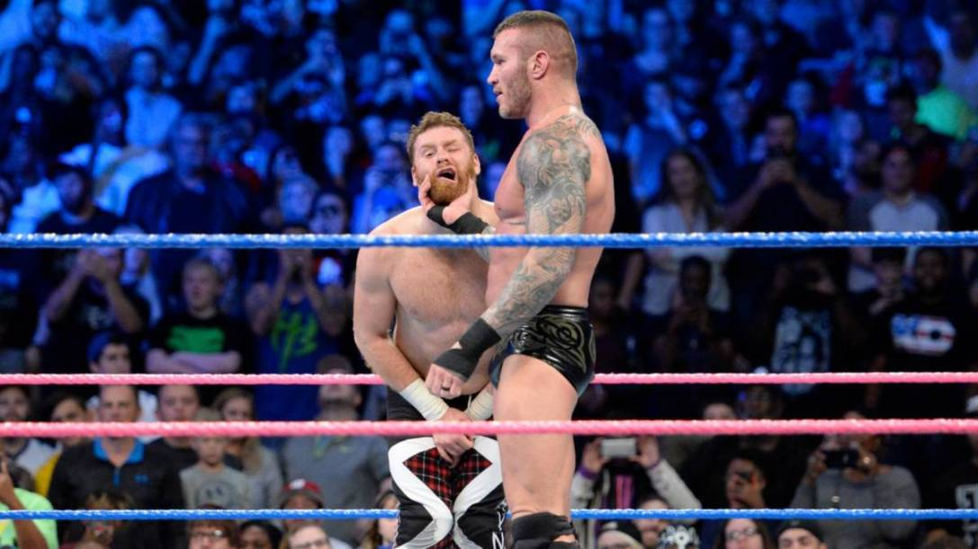 Randy Orton Sami Zayn