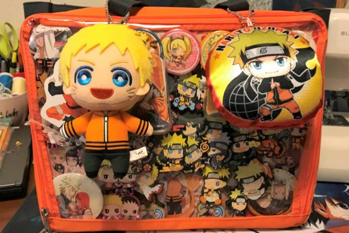 Orange Naruto ita bag