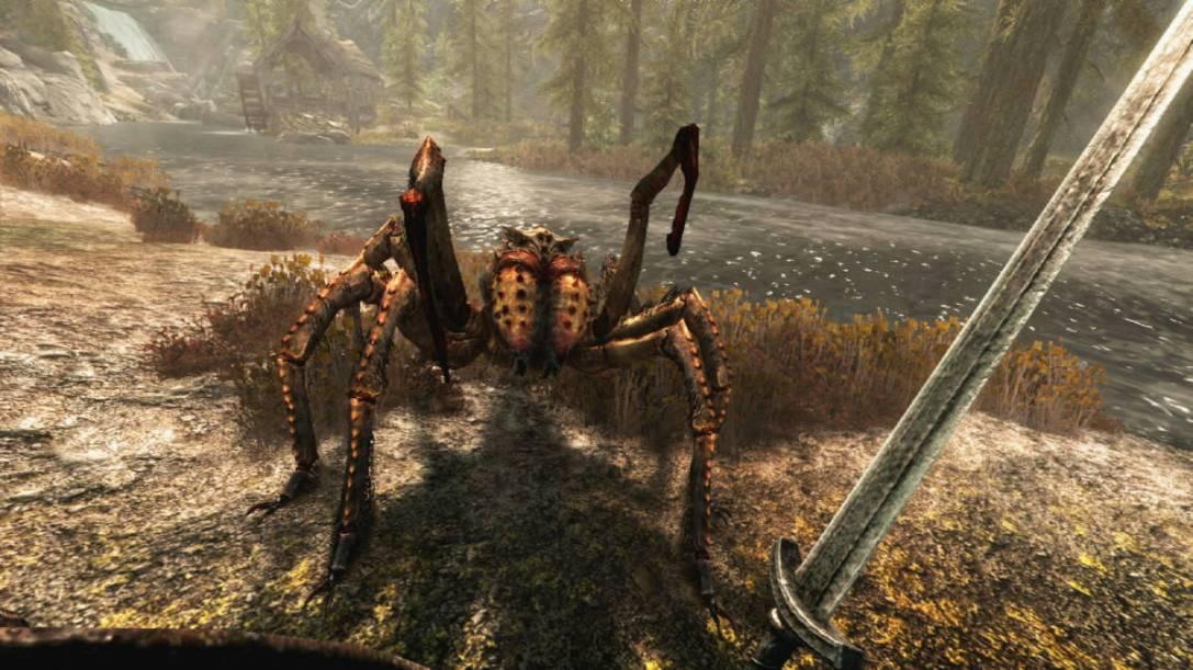 Skyrim VR (PS VR) REVIEW - Dragonborn For VR