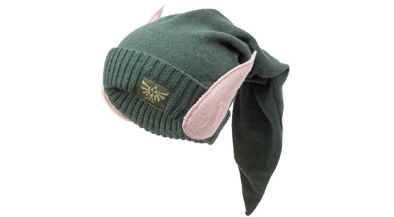 Zelda Link elf ears wool beanie hat