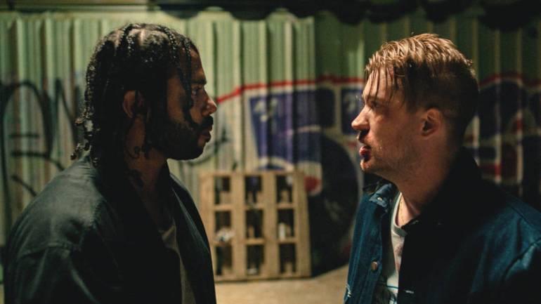 Daveed Diggs and Rafael Casal appear in Blindspotting