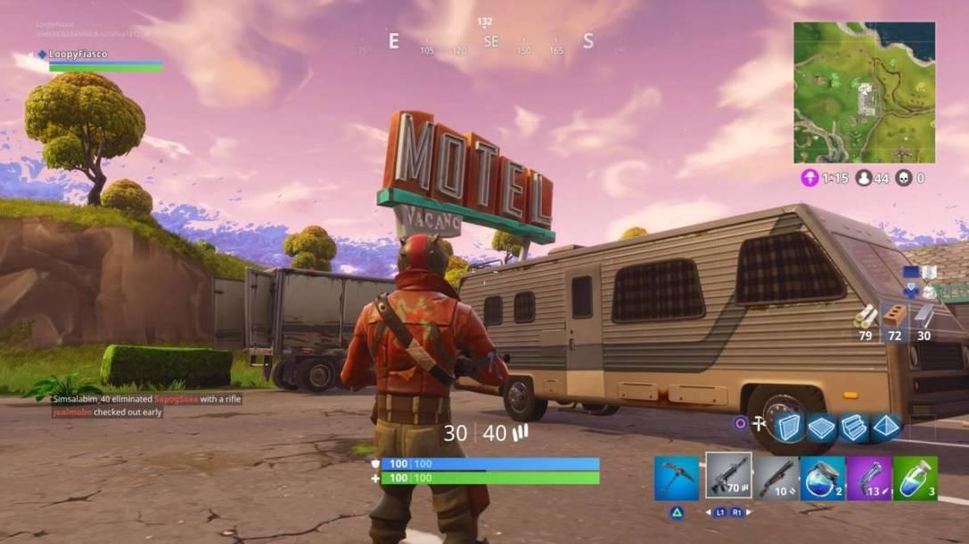 Fortnite Motel