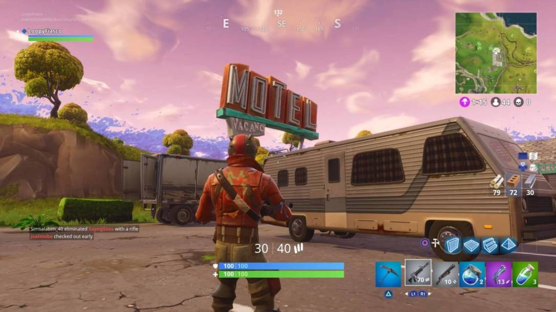 Fortnite Motel