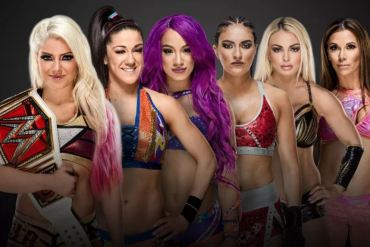 WWE Elimination Chamber Women's Match