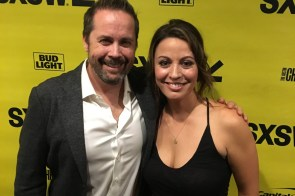 Composer Mateo Messina with Blockers Director Kay Cannon