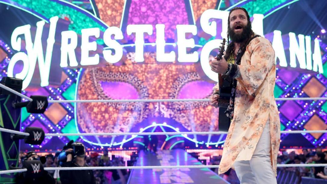 WrestleMania 34 Elias