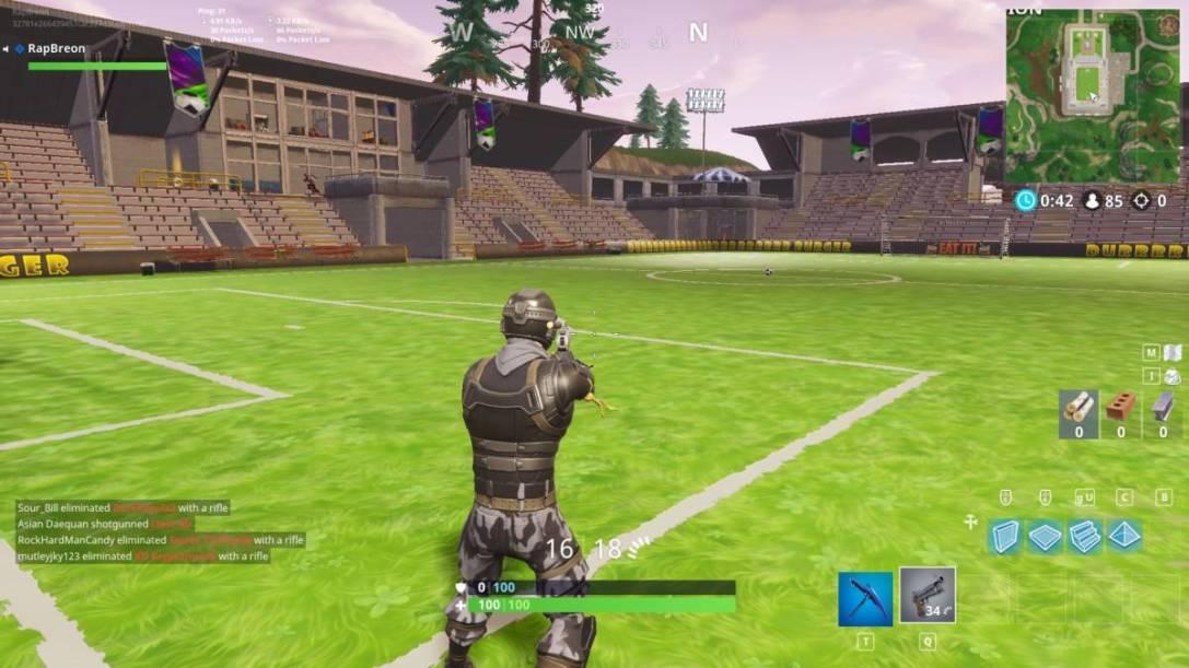 World Cup stadium FIFA fortnite