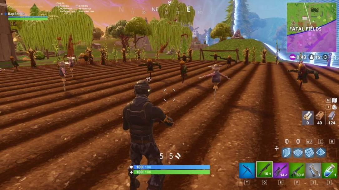 Fortnite Fatal Fields pitch