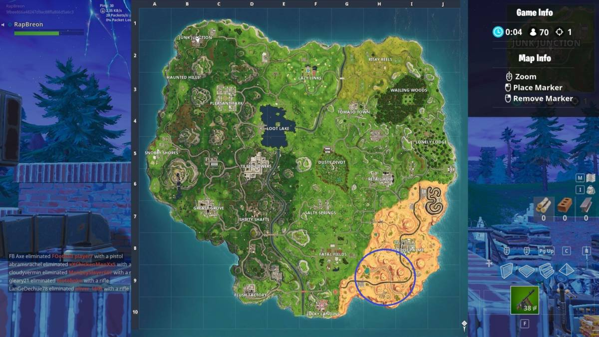 for the rest that simply want to see the answer or want to build upon their map knowledge for future battle pass challenges i present a picture with each - dinosaure fortnite map