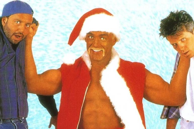santa with muscles hulk hogan