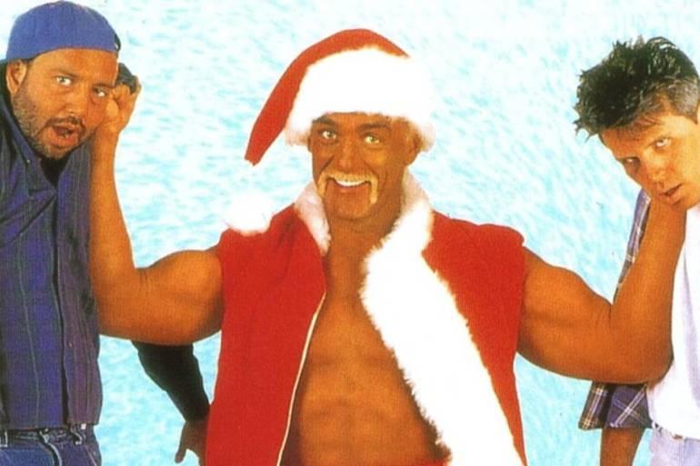 santa with muscles hulk hogan